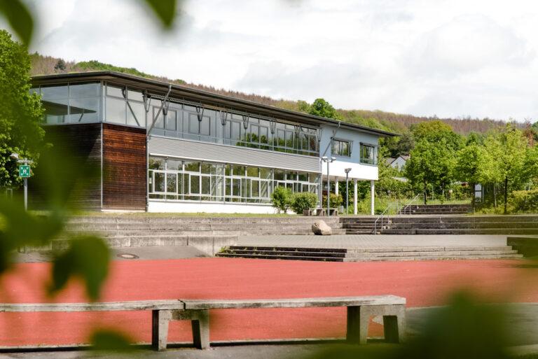 Karla-Raveh-Gesamtschule Hauptgebäude Lemgo Oberstufengebäude