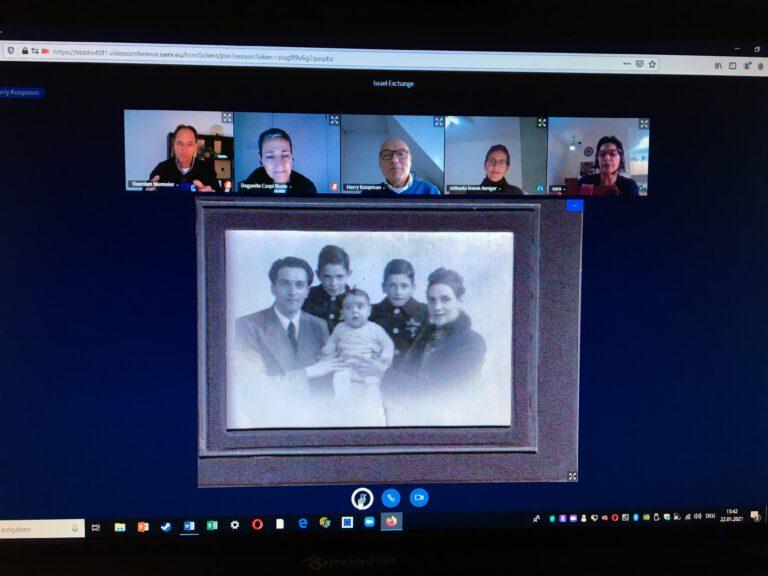Videokonferenz Harry Koopman
