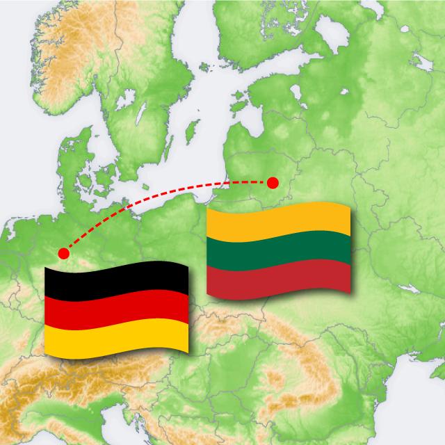 Virtuelles Projekt mit unserer Partnerschule in Kaunas Litauen