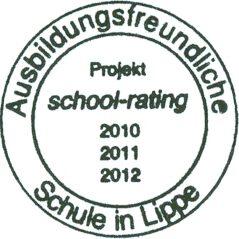Ausbildungsfreundliche Schule in Lippe